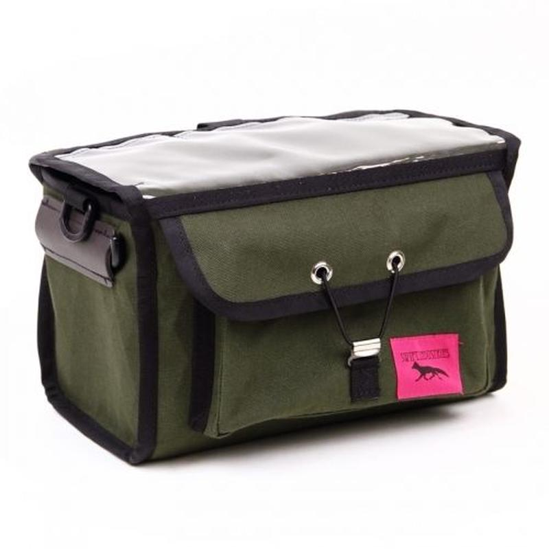 "SWIFT INDUSTRIES ""PALOMA"" handlebar bag(x-pac/olive)"