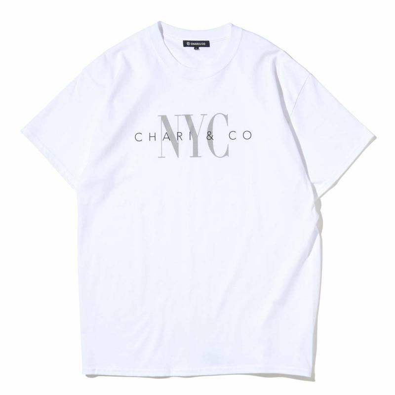 "CHARI&CO ""UNDERWEAR LOGO TEE "" ホワイト"