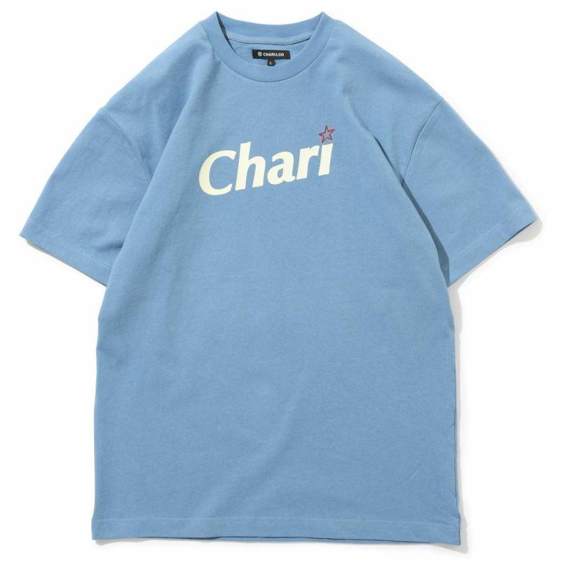 """CHARI&CO  """"SUGAR TEE Tシャツ"""" SLATE BLUE"""