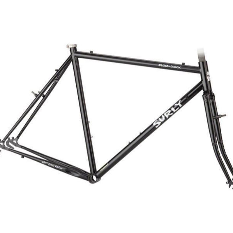 "SURLY ""CROSS × CHECK"" フレームセット BLACK"