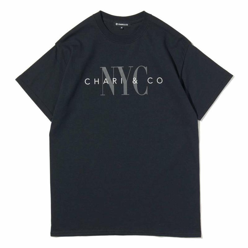 """CHARI&CO """"UNDERWEAR LOGO TEE """"ブラック"""