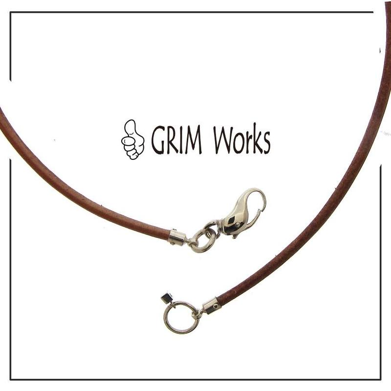 GRIM Works Original Clip チョーカー SV925 革紐・ブレスレット