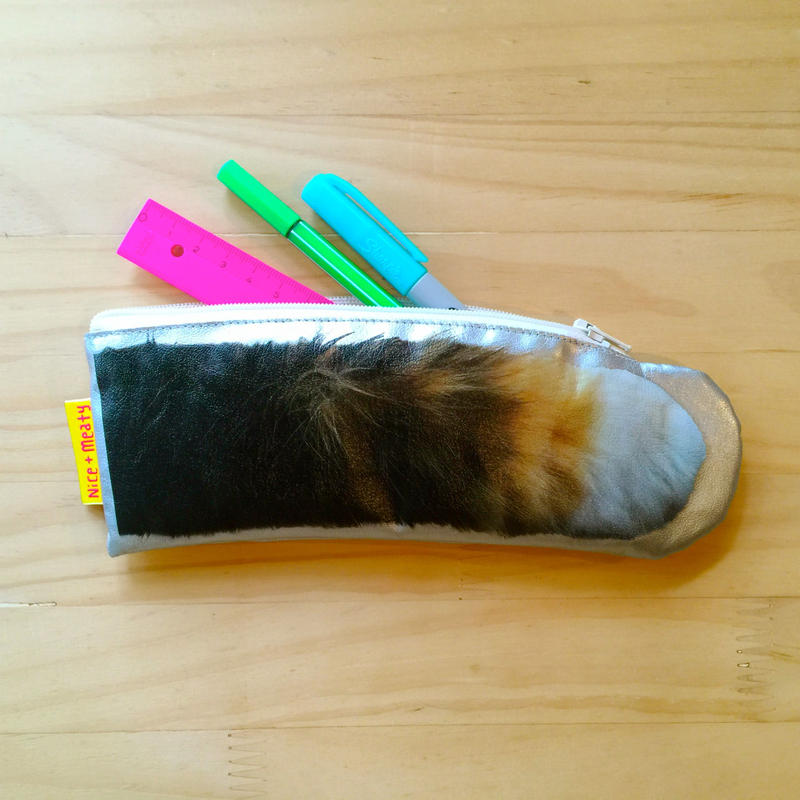 CAT PAW POUCH - Tricolore