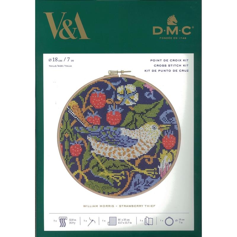 Victoria & Albert Museumコラボクロスステッチキット[DMC]