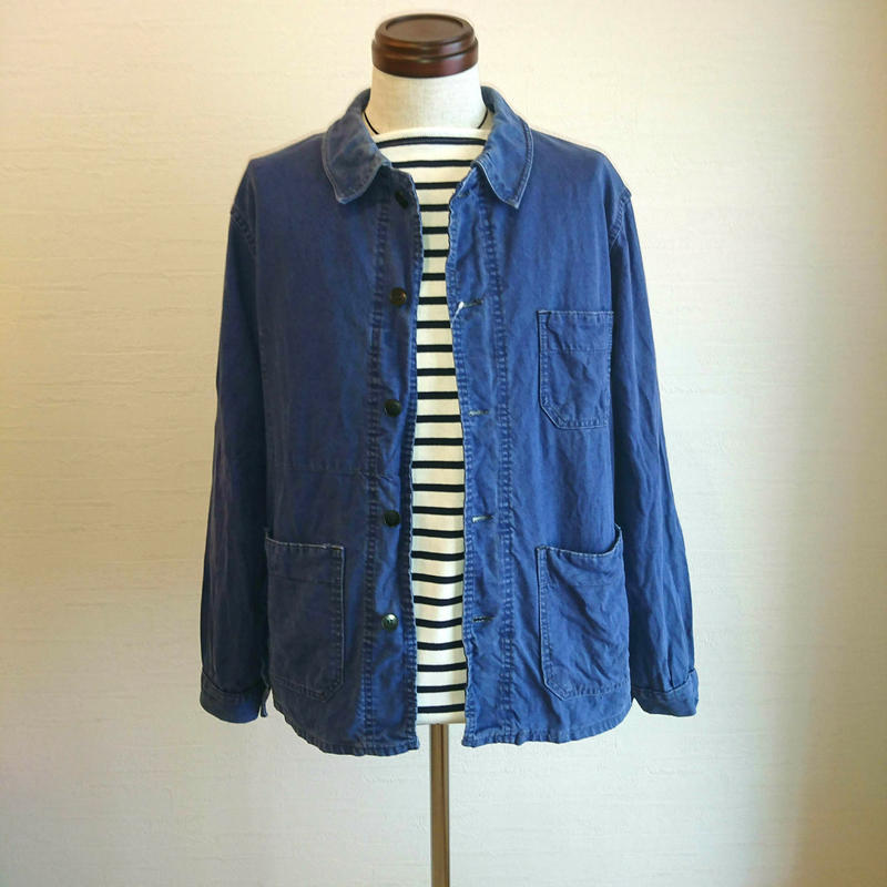 【French Work Jacket 50´S~60´S used】フレンチワークジャケット used