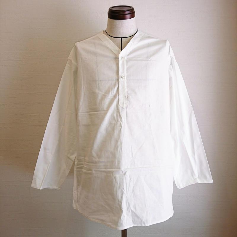 【Russian Military Sleeping Shirt Henley Neck DeadStock】ロシア軍 スリーピングシャツ ヘンリーネック DeadStock
