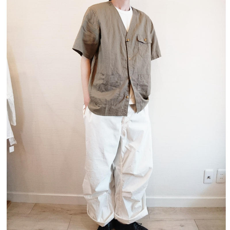 【BARNS OUT FITTERS/バーンズアウトフィッターズ】Storage  Shirt  ストレージシャツ