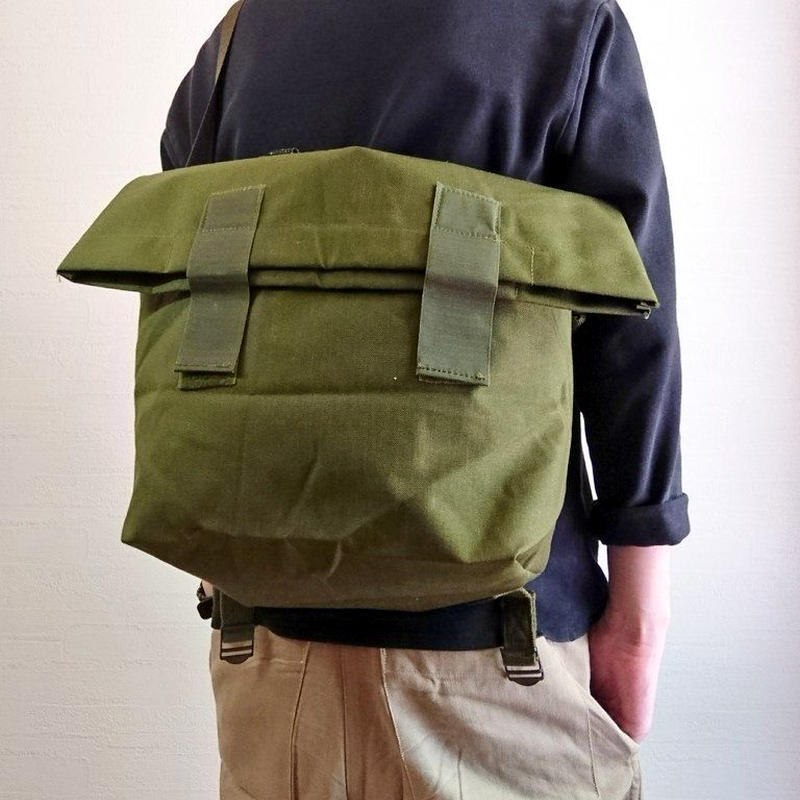 【Danish Army 80's Messenger Bag DeadStock】デンマーク軍 80's メッセンジャーバッグ DeadStock