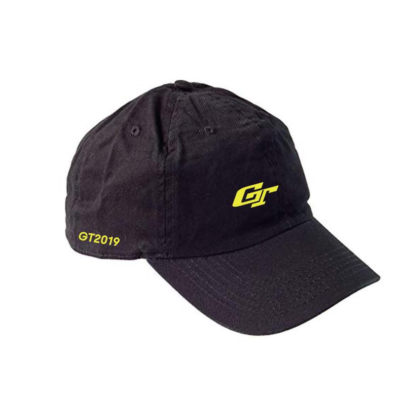 GT2019 GTロゴキャップ(ブラック)