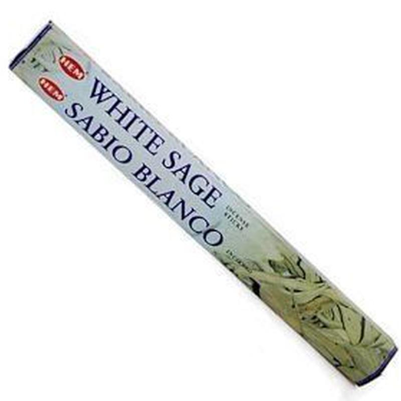 HEM White Sage Incense Sticks ホワイトセージインセンススティック3箱セット