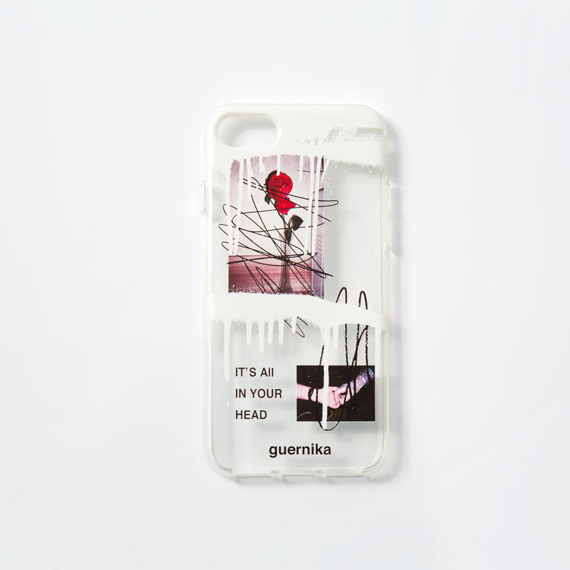 iPhone Case / Monophonia (Clear) 【iPhone7/8】【iPhoneX】