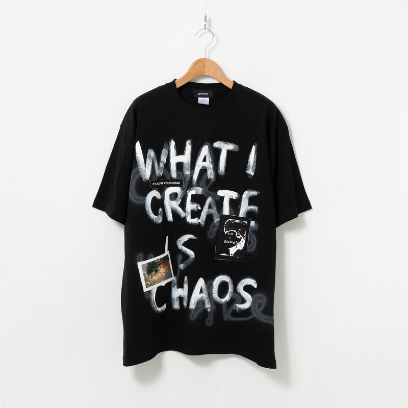 【official online shop 限定モデル】Hand Painted T-sh / Black