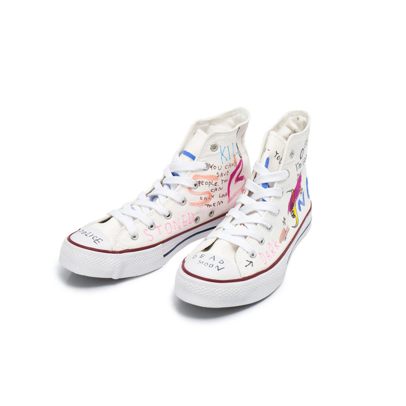 Hand Painted Sneaker / 25.0 cm / No.1