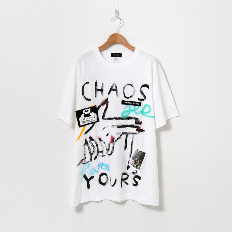 Hand Painted T-sh / White / No.15