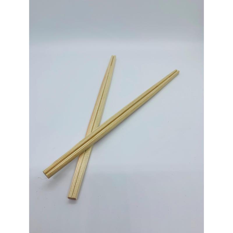郡上割り箸 利休箸24cm 白・茶(混)100膳(1膳14円)