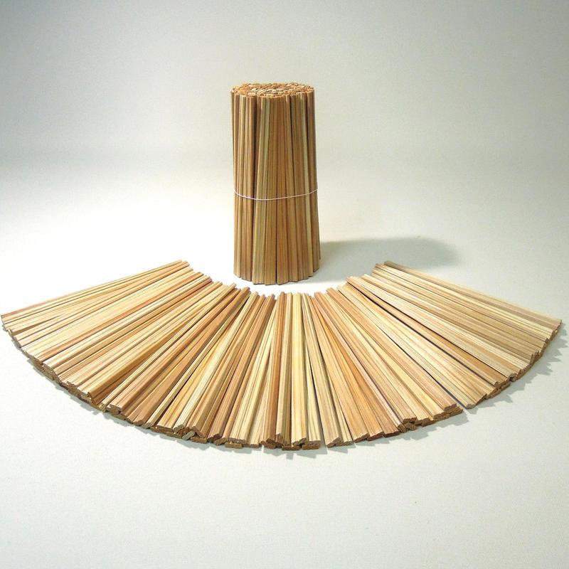 郡上割り箸 元禄箸21cm 白・茶(混)1000膳(1膳5円)100膳×10束