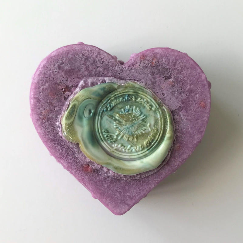 【檸檬はソワレ】シーリングハート・紫桃   [Beldad]/ orchid(蘭)の香り