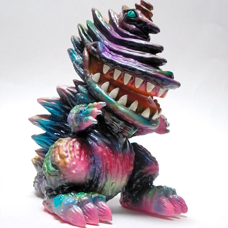 たのしい怪獣 キングギザラ A Type gumtaro彩色1点もの