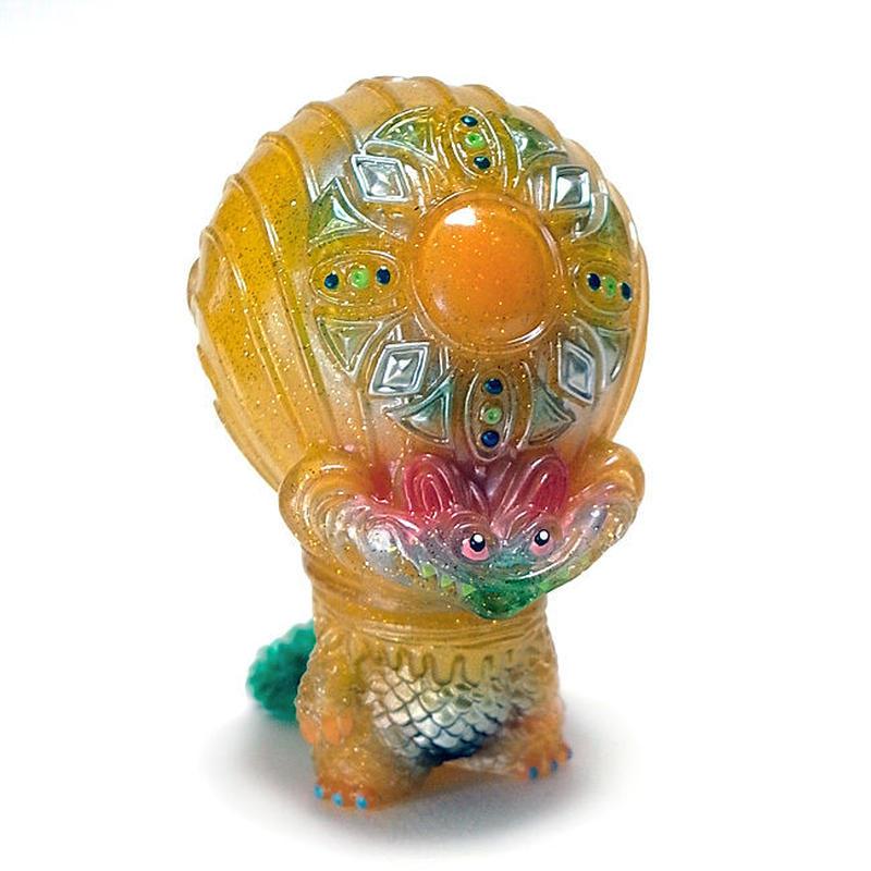 宇宙魚人ギョグラ 太陽神 gumtaro彩色版