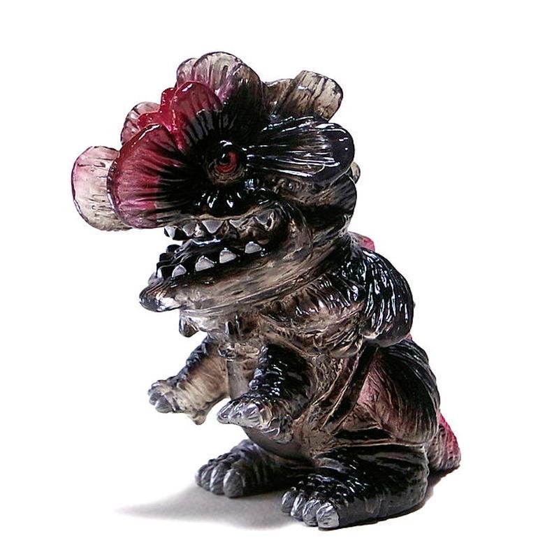 多肉怪獣ゴビラ gobira クリアー黒赤 gumtaro第4期彩色版