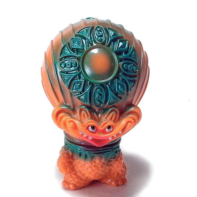 宇宙魚人ギョグラ レトロオレンジ  gumtaro彩色版
