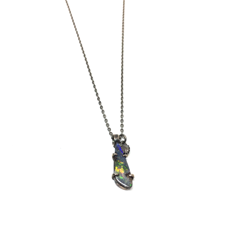 gunda<ガンダ >CHAMELEON 3 NECKLACE[カメレオン 3  ネックレス]  ONE OF A KIND[ 一点物]