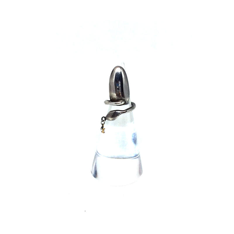 gunda<ガンダ >NAIL NAILRING/Silver[ネイル ネイルリング/シルバー]