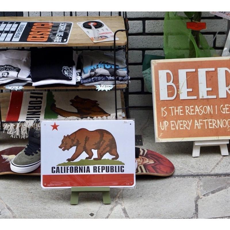 California州旗    サインボード
