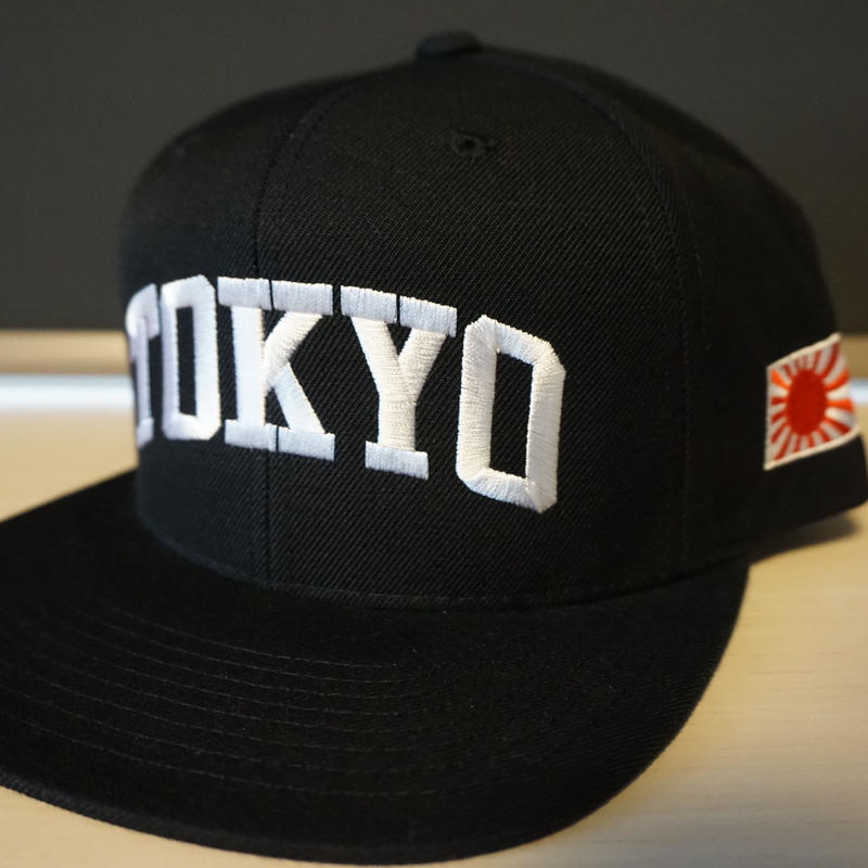 "RUGGED ""NAVY"" Snapback cap (Black)"