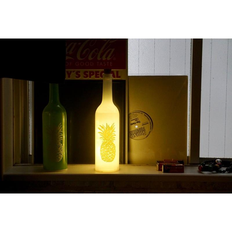 "bottle light ""pineapple"""