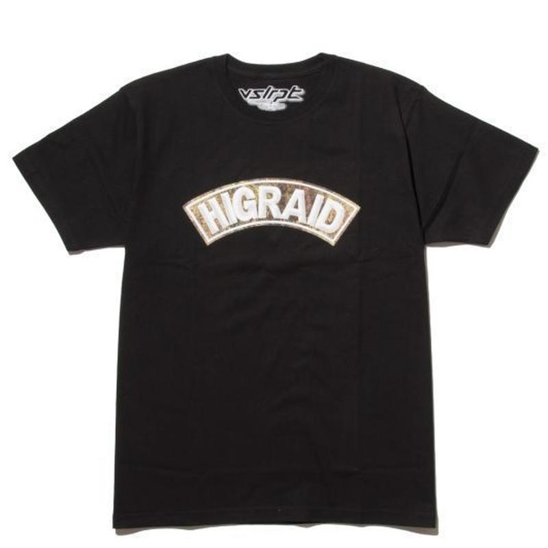 "visualreports ""REAL HIGRAID"" tee (Black)"
