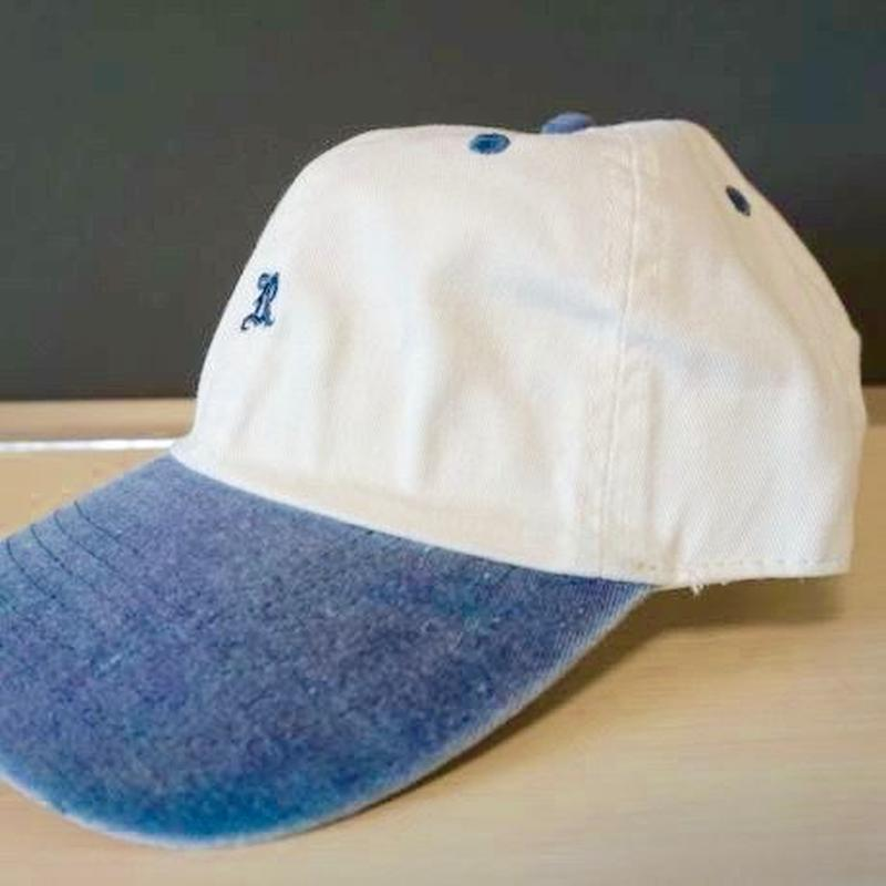 "RUGGED ""OLD R"" adjuster cap(navy × white)"