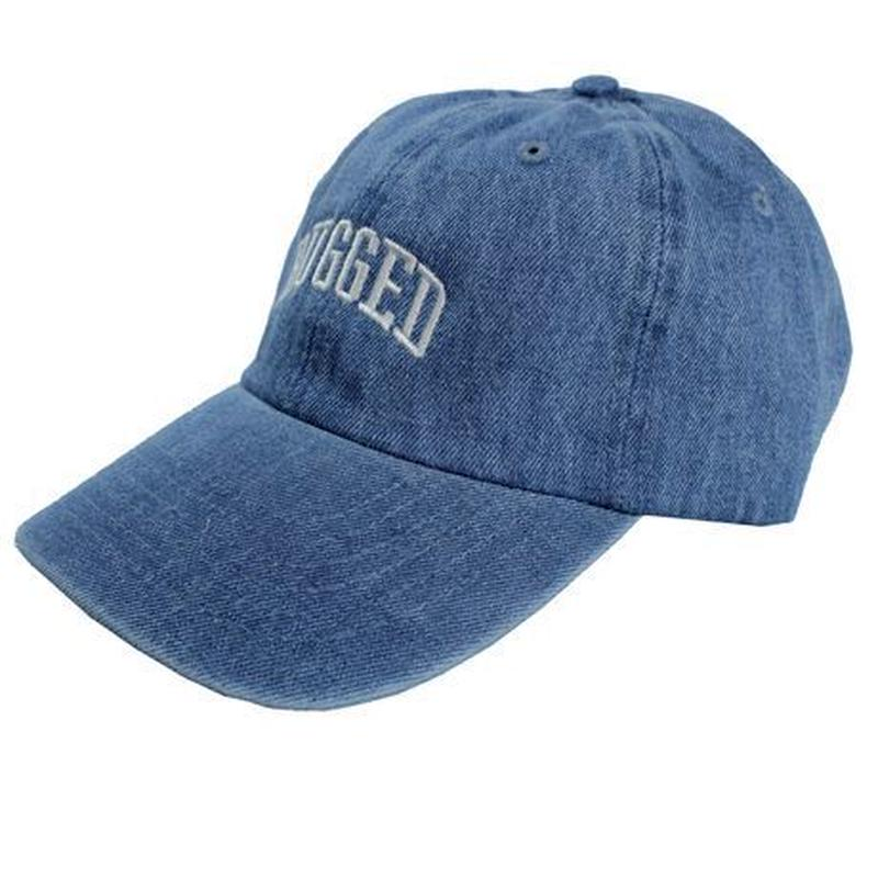 RUGGED ''ARCH LOGO'' adjuster cap (Light Denim)