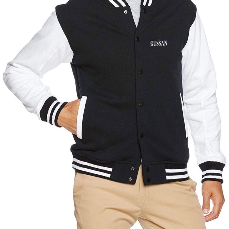 GUSSANオリジナルジャケット ブラック/ホワイト Jackets Black/White