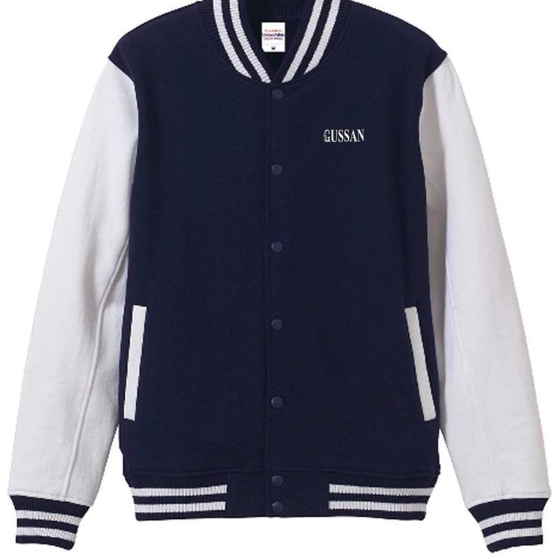 GUSSANオリジナルジャケット ネイビー/ホワイト Jackets navy/white