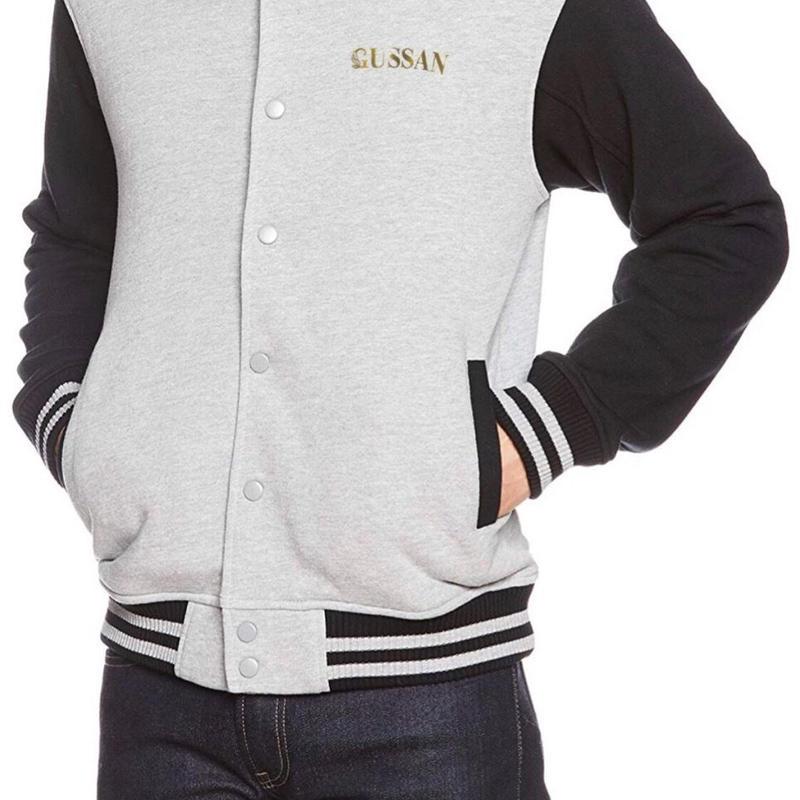 GUSSANオリジナルジャケット ミックスグレー/ブラック Jackets Mix Gray/Black