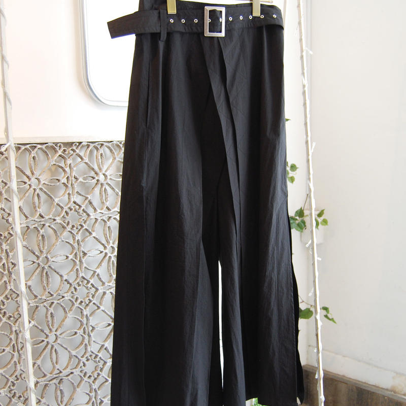 SHIROMA 19-20A/W high waist tack pants