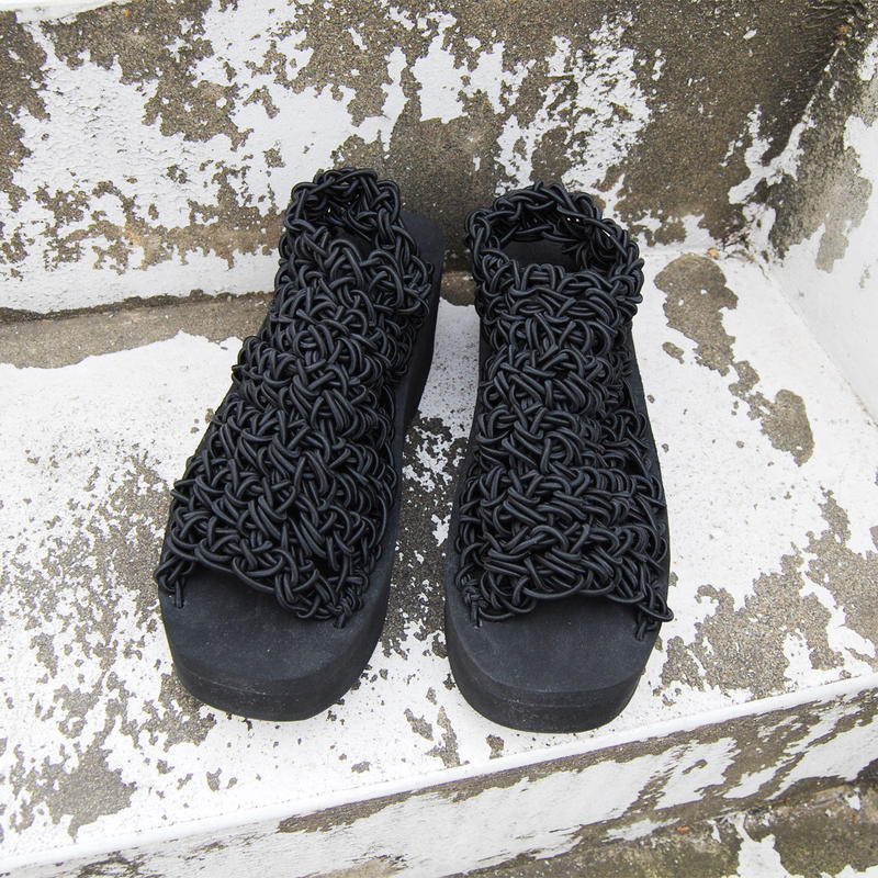 ARIELLE DE PINTO / LVMM traditional sock -black-