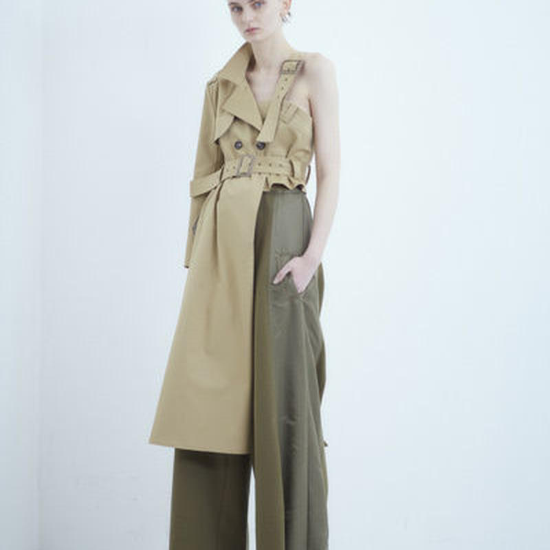 SHIROMA 18-19A/W CHURCH break up trench coat