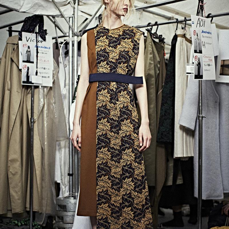SHIROMA 19-20A/W layered lace dress