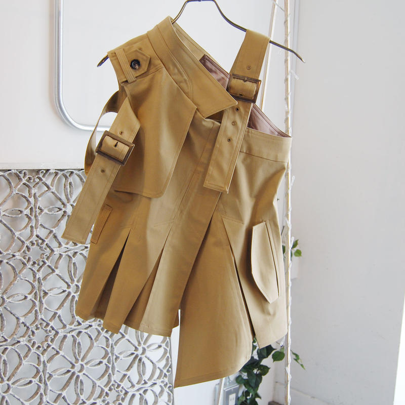 SHIROMA break up trench top
