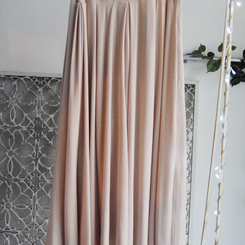 SHIROMA  knit wide pants pale colors
