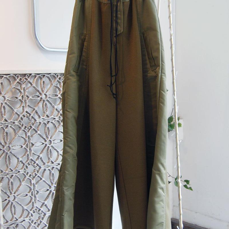 SHIROMA 18-19A/W CHURCH ma-1 pants
