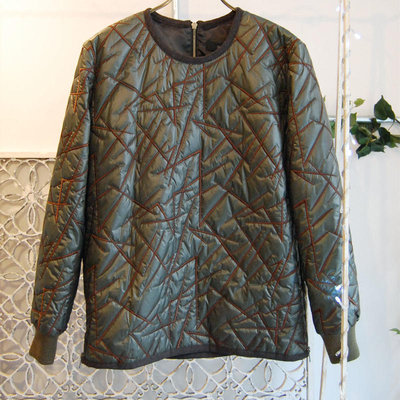 SHIROMA 16-17A/W DARK AGES embroidery quilting unisex top