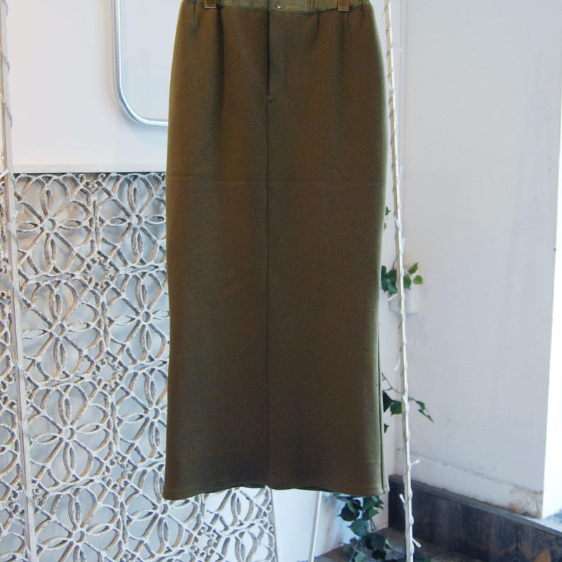 SHIROMA 18-19A/W CHURCH ma-1 skirt