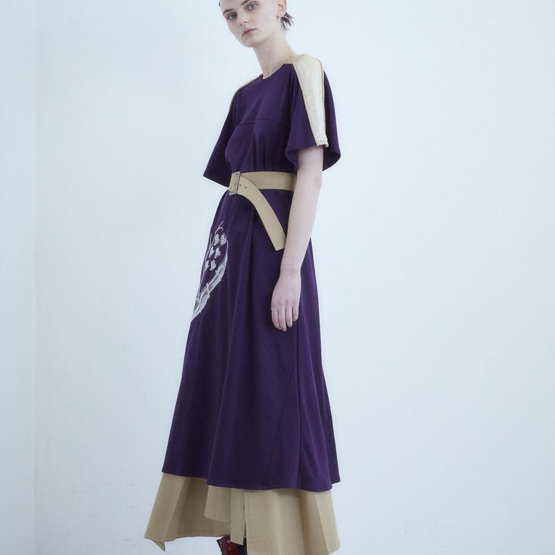 SHIROMA 18-19A/W CHURCH embroidery suka dress