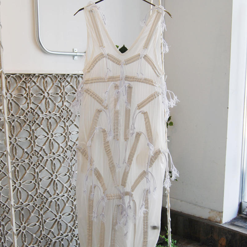 SHIROMA 19-20A/W cord lock dress