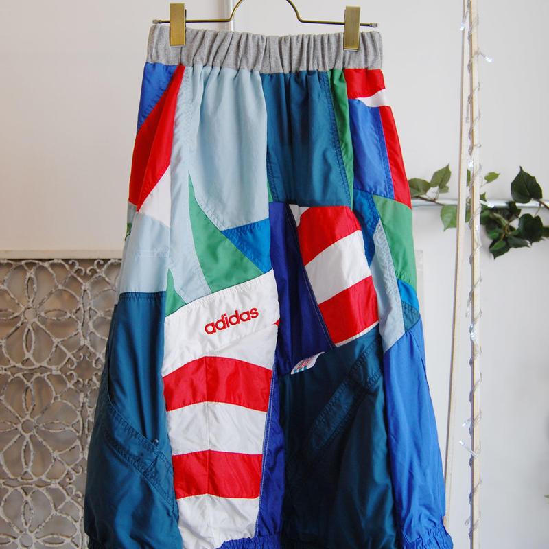Yan na Maury mix blouson skirt 【1】