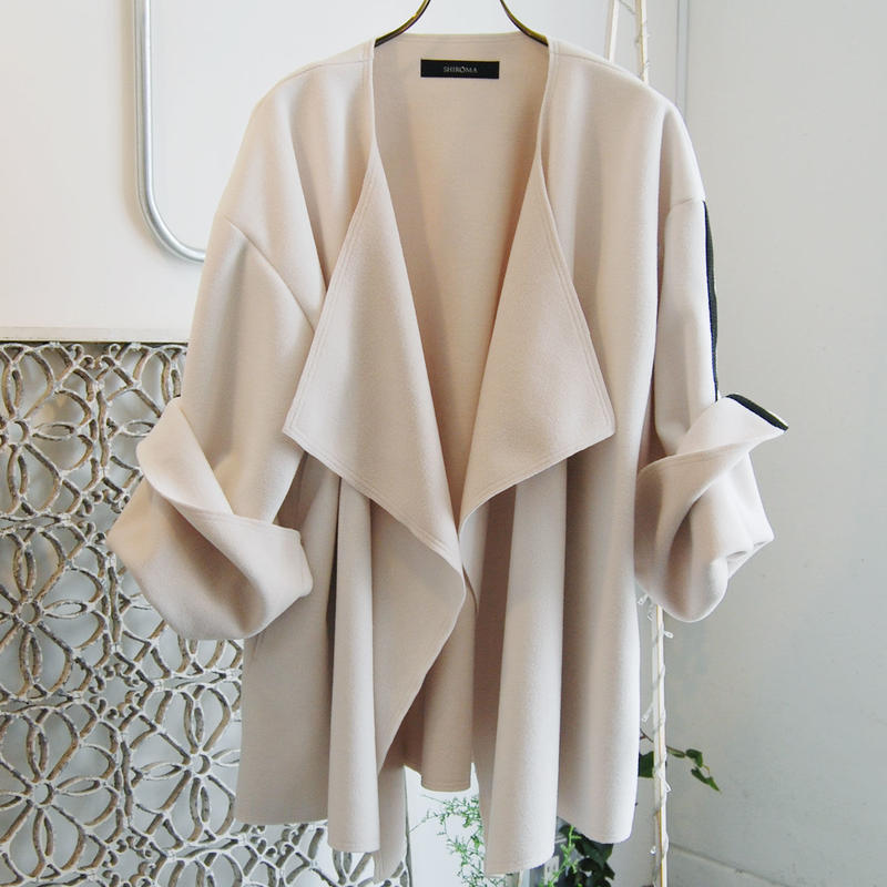 SHIROMA 19-20A/W double face cardigan