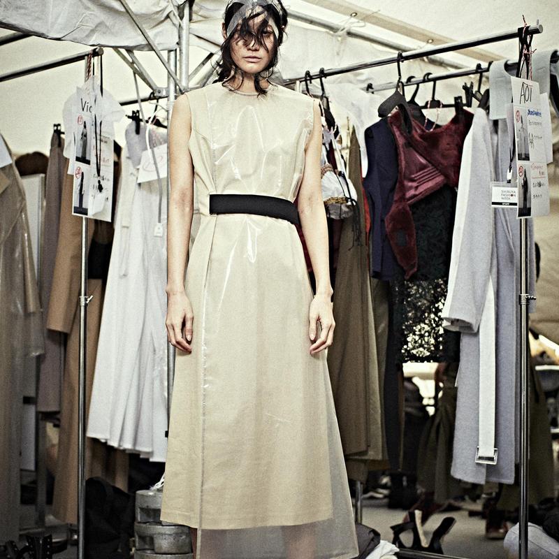 SHIROMA 19-20A/W layered dress